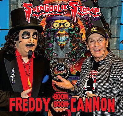 SVENGOOLIE STOMP Freddy Cannon 2016 picture sleeve orange vinyl 7