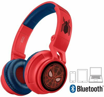 Spiderman Kids Bluetooth Headphones with Mic