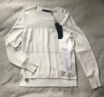 Karl Lagerfeld Amazing Sweater / Jumper Size M Brand New, cashmere, wool, cotto