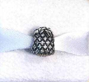 Pandora Sparkling Pineapple Clear CZ Charm #791293CZ + Gift Packaging & Pouch