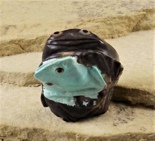 ZMT New Spring Frog Mates w/Owl on bottom by Ricky Laahty - Variscite & Chert