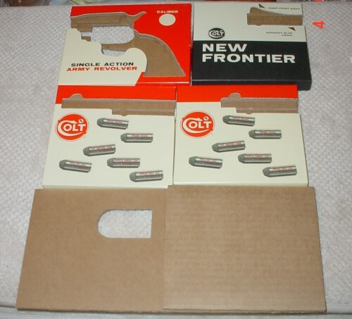 Colt Single Action Army Colt Stage Coach Box Insert you get one  Base or Barrel