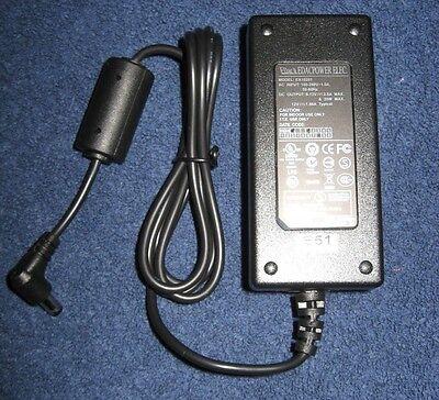 NEW Genuine EDAC AC ADAPTOR POWER SUPPLY Model: EA10201 9-12V, 2A 20W