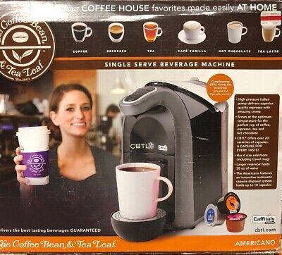 CBLT Coffee Bean & Tea Leaf Machine Single Serve Beverage Machine, Model 10134 ()