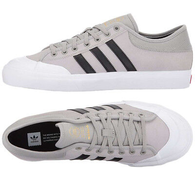 Adidas Originals Matchcourt Shoes Grey Canvas Sneakers ADIDAS BY3985 NEW