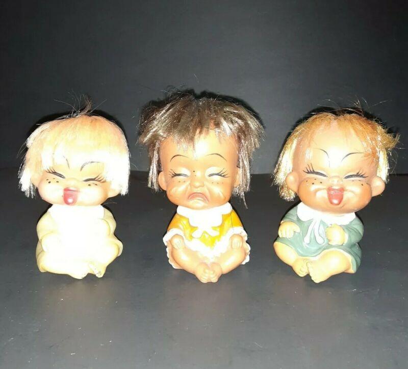 Vintage Moody Cutie Dolls (lot of 3)