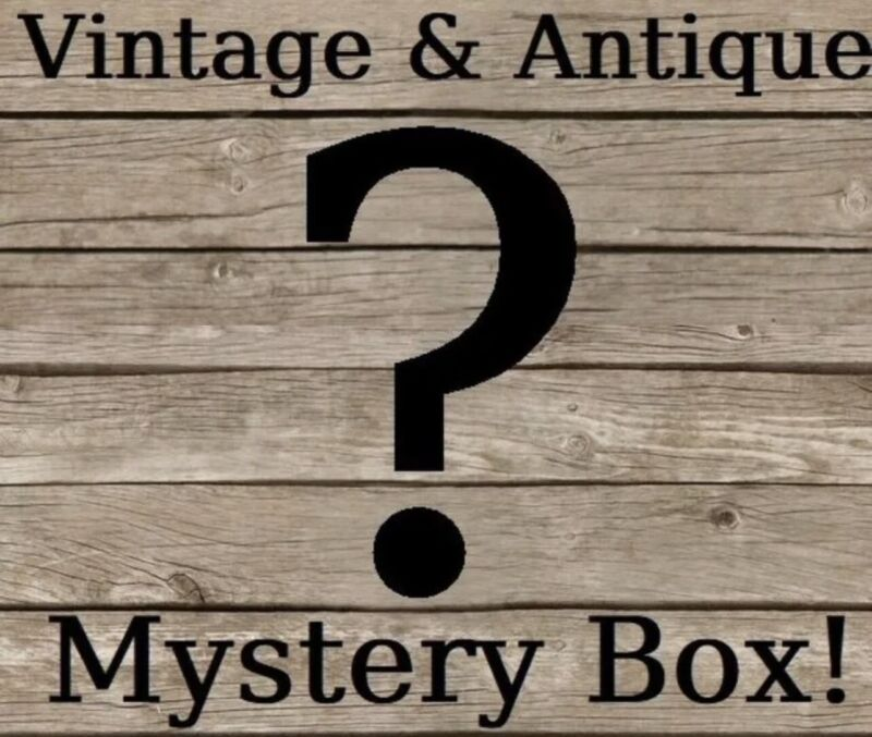 X-Large Wholesale Lot Of Antique And Vintage Mystery From 1800's-1970's