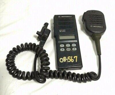 Motorola Mts2000 Model Handle-talkie Fm Radio H01ucf6pw1bn With Microphone