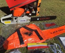 POWERFUL 58cc Chainsaw with 20' Bar & Safety Gear Perth CBD Perth City Preview