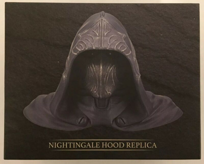 NEW Elder Scrolls Oblivion RARE Nightingale Hood Scale Replica Loot Gaming Crate