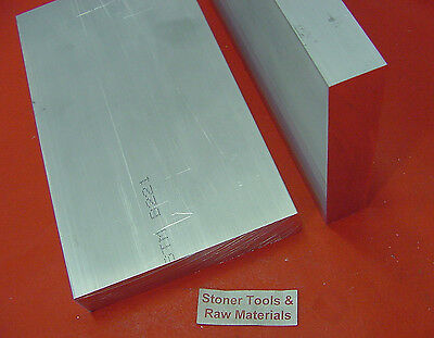 2 Pieces 12 X 4 Aluminum 6061 Flat Bar 7 Long Solid T6511 Plate Mill Stock