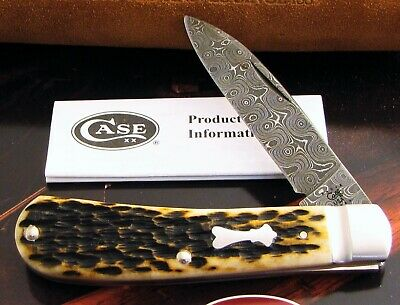 Case Tony Bose Damascus Tribal Spear Knife 2010 Only 100 Made A Masterpiece! NR