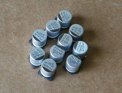 20 Sanyo 470uf 25v Good 4 16v 10v 6.3v105c Smd Capacitor 25cv470ax 10mmx10.2mm