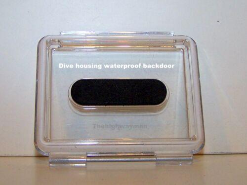 GENUINE GoPro waterproof backdoor for HERO 1 2 3 DIVE Housing Waterproof OEM