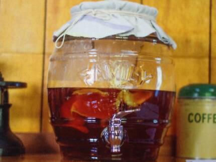 Glass Kombucha Jars