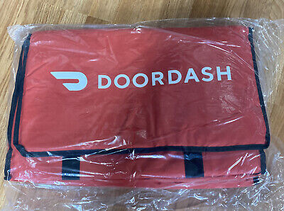 New Doordash Large Insulated Catering Delivery Bag 22.5x14x13