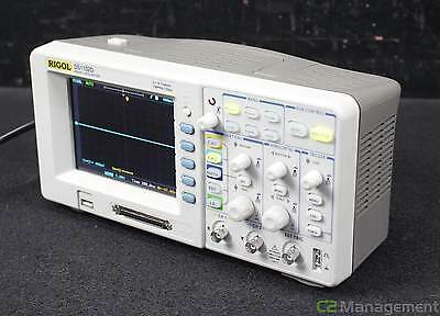Rigol DS1102D 2CH 100MHz Digital Oscilloscope with Logic Analyzer FFT USB P/F RS