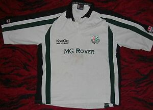 LONDON IRISH - 2001-2002 Away / MENS KooGa - RUGBY Shirt / Jersey. Size: 2XL - Poland, Polska - If an item is to be returned because you changed your mind (you do not like the color, size etc), you will have to cover the return shipping's fee. I do my best to describe the listed stuff as well as possible and the exact size numbers a - Poland, Polska