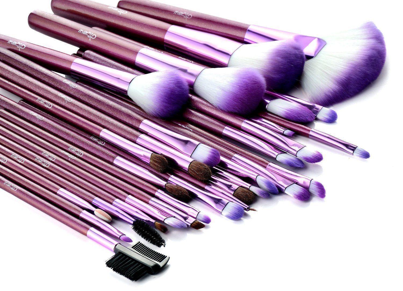 Glow 30 Pcs Professional Make up Brushes Set Makeup Kit in Cosmetic Case