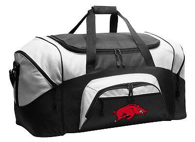 University of Arkansas Duffel BAG Arkansas Razorbacks Gym Bags Luggage Suitcase