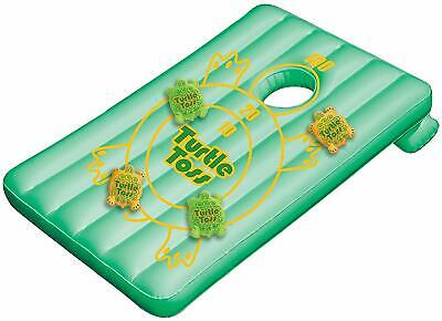Turtle Toss Target Game by SWIMLINE WATER SPORTS / FLOAT & 8 BEAN BAGS 36