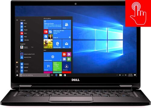 Dell Latitude | Windows 10 PRO PC Laptop | FHD IPS TOUCH SCREEN GAMING 8GB i5 i7