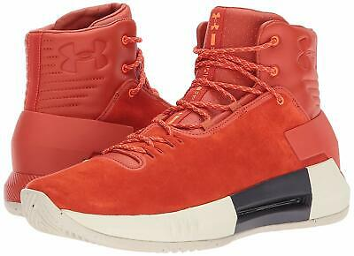 Under Armour Men's Drive 4 Premium Lace-Up Basketball Shoes Blast/Blast
