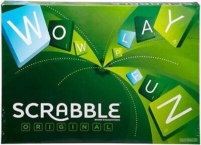 Scrabble Original Classic Crossword Word Forming Board Game
