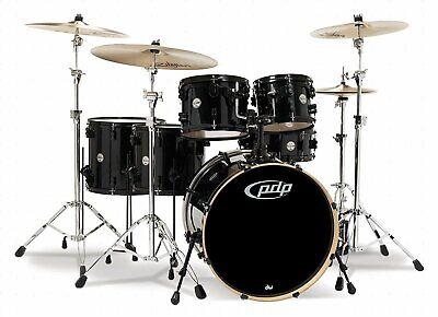 Pacific Drums PDCM2216PB Concept Series 6-Piece Drum Set - Pearlescent Black for sale  Valley