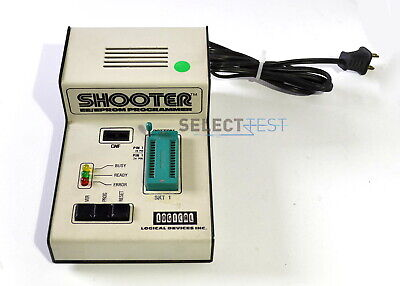 Logical Devices Shooter Prompro Series Eeeprom Programmer 28-pin Ref479