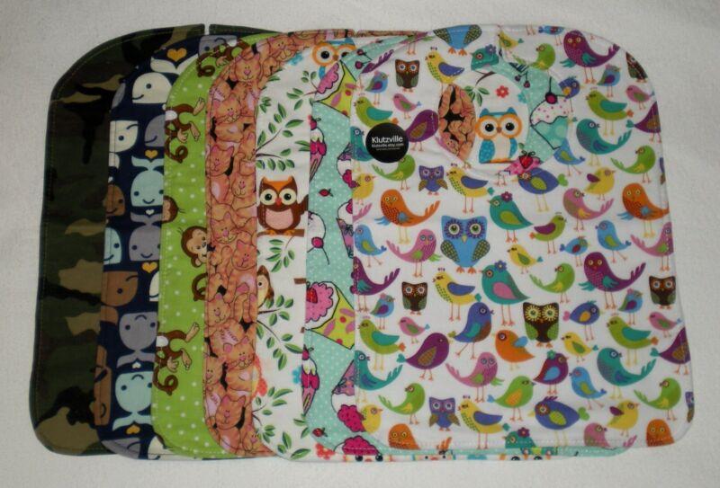 Handmade Baby Bibs XL Many Cute Prints!
