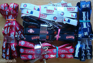 MLB-Breakaway-Lanyard-Keychain-TEAM-COLOR-Official-licensed-ALL-TEAMS