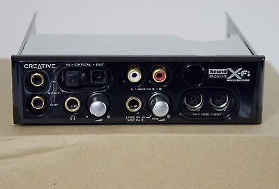 Creative Sound Blaster X-Fi  SB0250 Front Panel XTREME FIDELITY Fatal1ty