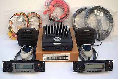 Motorola Xtl5000 Xtl Uhf 380-470 Mhz 1000 Ch 110 Watts Digital Dual Heads Radio