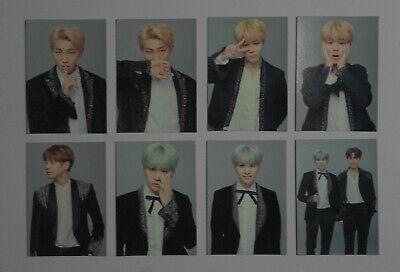 (Lot of 8) BTS The Wings Tour Final Official Mini PhotoCard JungKook SUGA Jimin