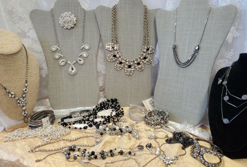 Craft Jewelry Lot Vintage Now Coldwater Creek Loft Ann Taylor JL-161