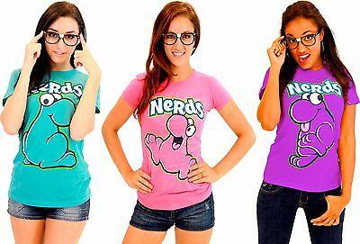 Choose Juniors Candy Nestle Willy Wonka Company Nerds Nerd T