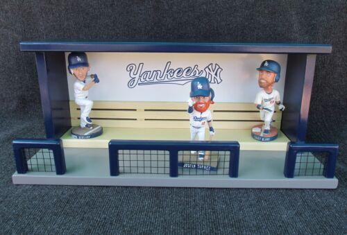 New York Yankees Baseball Bobblehead Stadium Dugout Display