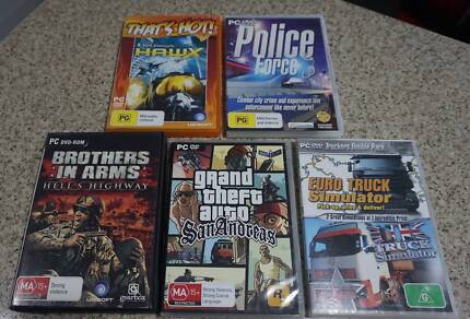5 X Assorted PC Games, $15