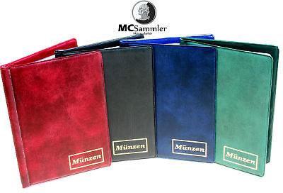 Münzenalbum Münzalbum mit 8 Münzhüllen für 108 diverse Münzen NEU!!