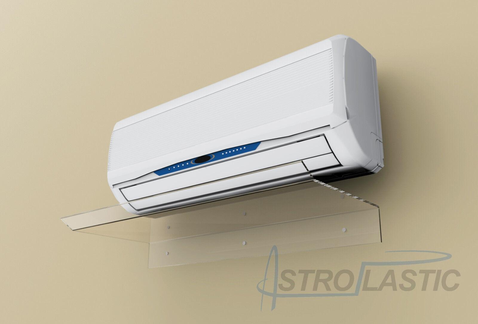 Deflettore deviatore aria per condizionatori split in plexiglass L 70/75/80 cm