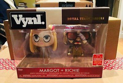 Funko Vynl Margot & Richie Royal Tenenbaums 2-Pack SDCC 2018 Shared Ex. (Margot Richie)