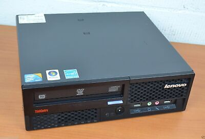 IBM Lenovo ThinkCenter  Intel Core2Duo 3 Ghz Small Desktop 2GB RAM DVD/RW