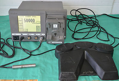 Stryker Tps 5100-50 Console With Stryker Core Sabre Drill Handpiece Footswitch
