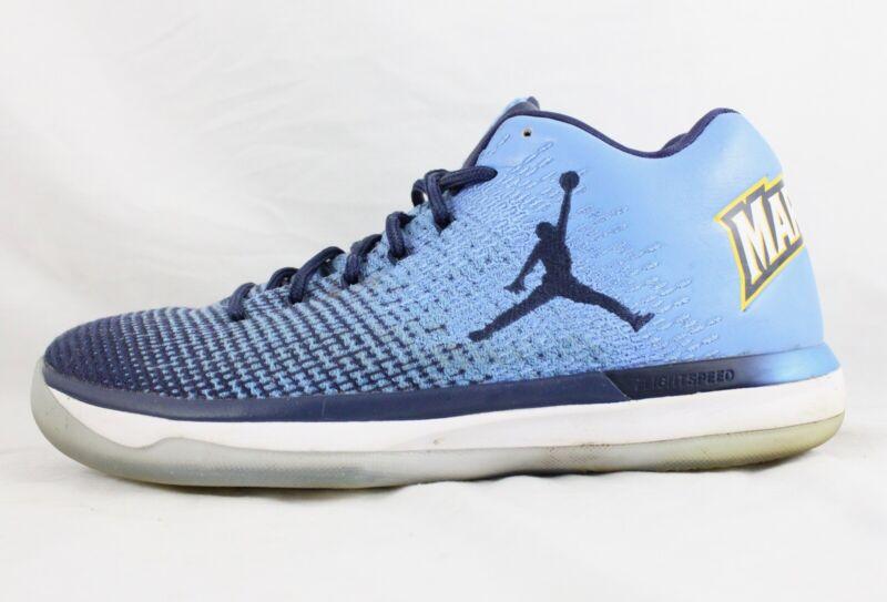 9868349efffdbc Nike Air Jordan 31 XXXI Low Marquette Blue 897564-408 Mens Basketball Shoes  SZ 8