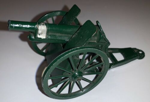 VINTAGE  BRITIANS CAST METAL TOY CANNON  CAP FIRING Made in England