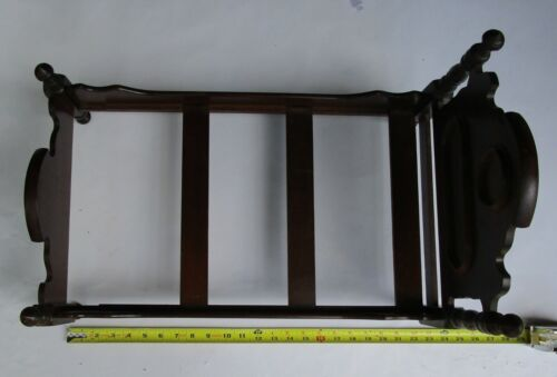 Antique Salesman Sample or Doll Bed ~ Wooden