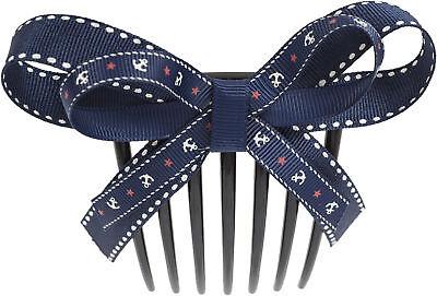 Sailor AVIANA Anchor Anker BOW Vintage Pin Up HAARKAMM Hair Comb Rockabilly ()