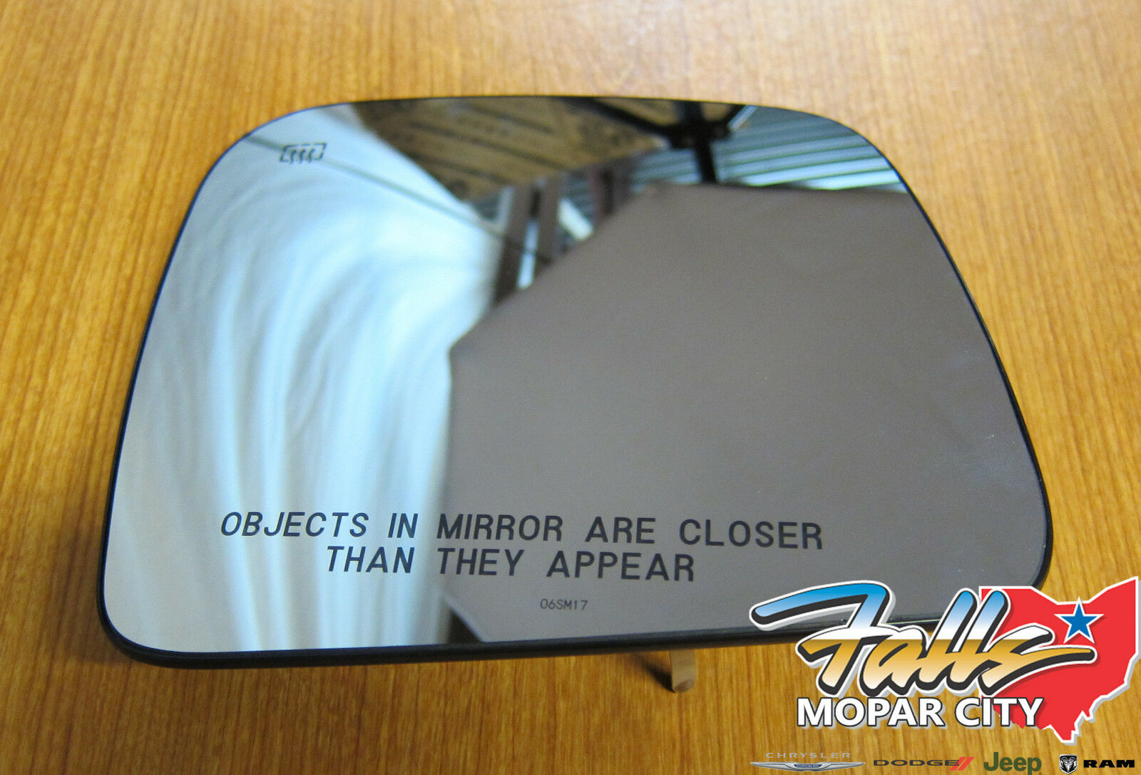 Mirror Glass Passenger Right Side Heated RH Hand For Jeep Grand Cherokee Durango