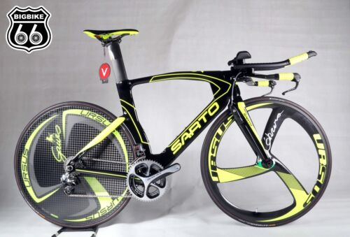 Sarto Velox Tt Frame Set Color Black + Fluo Yellow (size M)